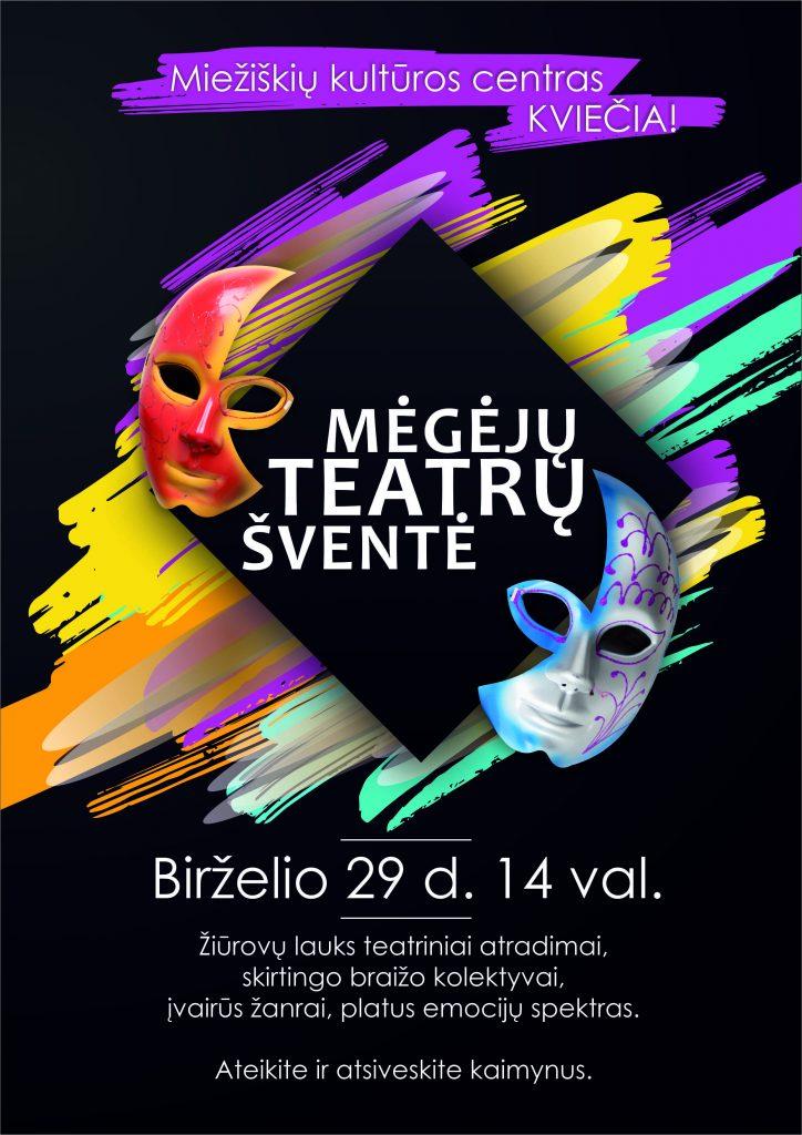 Teatro diena @ Miežiškių kultūros centras
