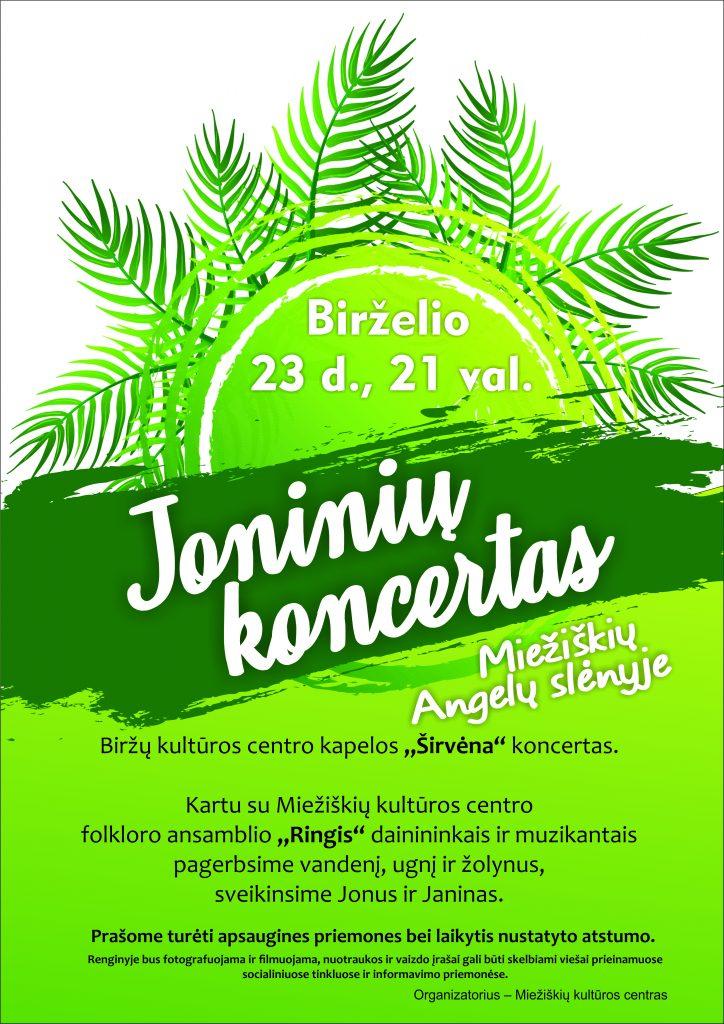 """Akcija """"Sveikiname Miežiškių seniūnijos Jonus ir Janinas"""" @ Miežiškių seniūnija"""